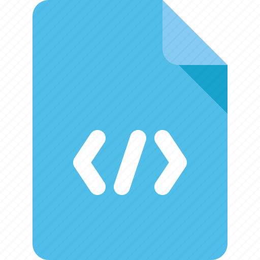 code, css, document, file, web icon