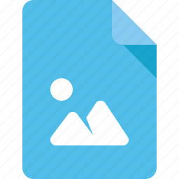 document, file, image, media, photo icon