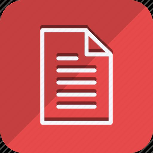 archive, data, document, file, folder, paper, storage icon