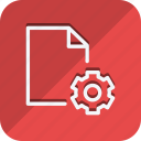 archive, data, document, file, folder, setting, storage icon