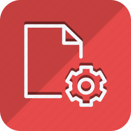 archive, data, document, file, folder, setting, storage icon