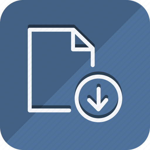 archive, data, document, download, file, folder, storage icon