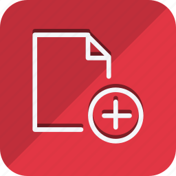 archive, data, document, file, folder, plus, storage icon