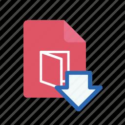 download, pdf icon