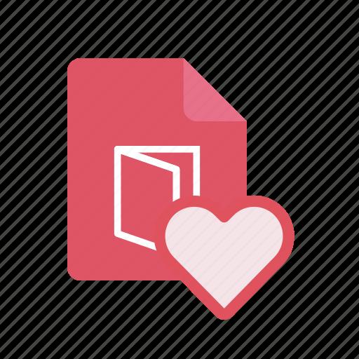 favorite, pdf icon