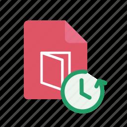 pdf, restore icon