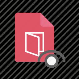 pdf, visible icon