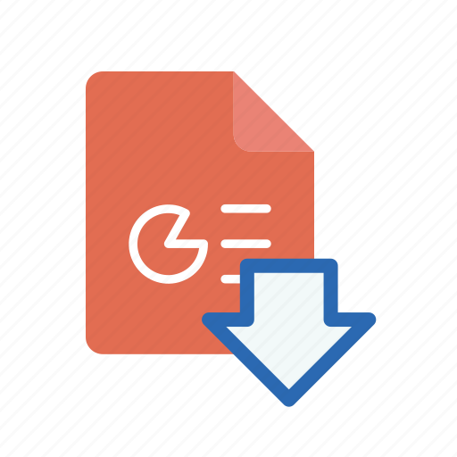 download, ppt icon