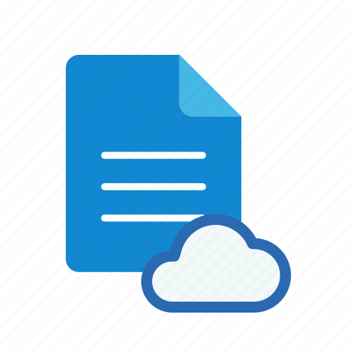 cloud, text icon
