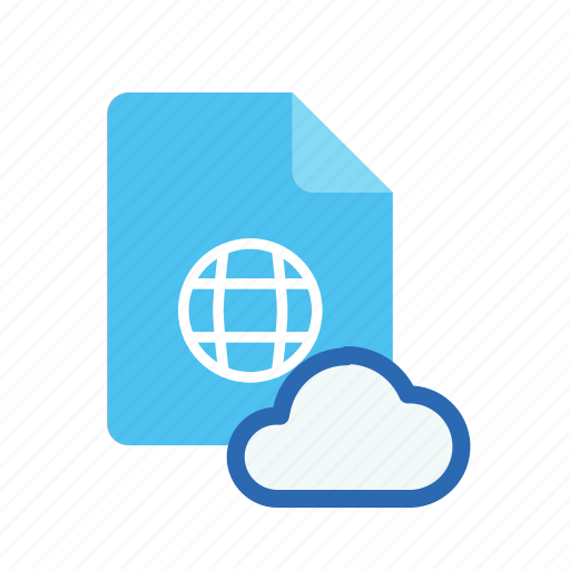 cloud, webpage icon