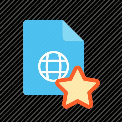 favorite, webpage icon