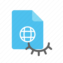 hidden, webpage icon