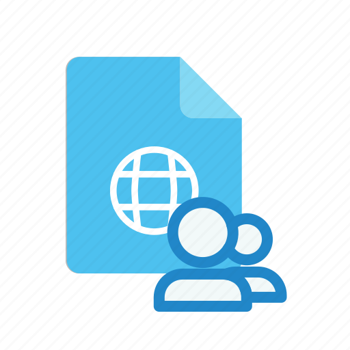 shared, webpage icon
