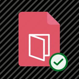 accept, pdf icon