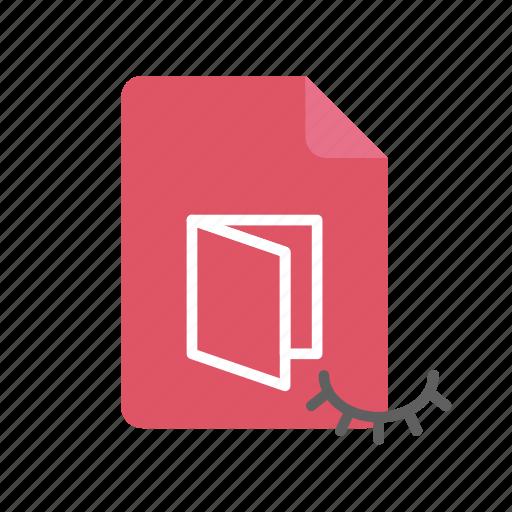 hidden, pdf icon