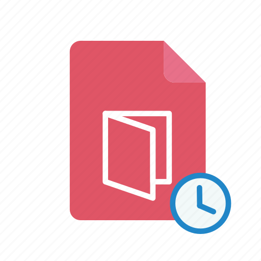 history, pdf icon