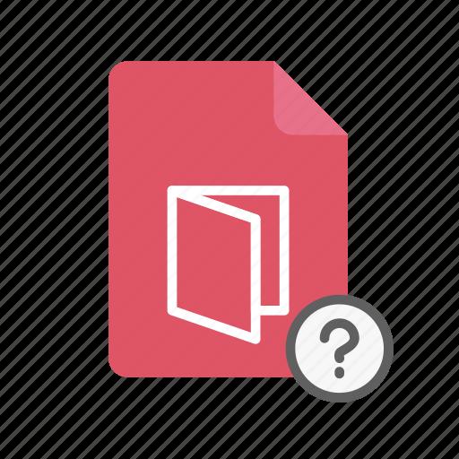 pdf, qmark icon
