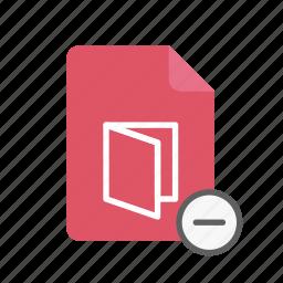 pdf, remove icon