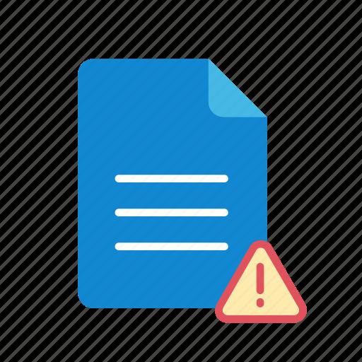 alert, text icon