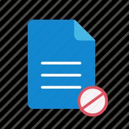 block, text icon