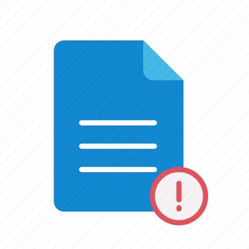 exclmark, text icon