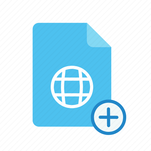 plus, webpage icon