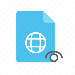 visible, webpage icon