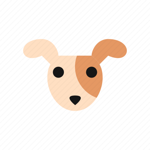 Animal Cartoon Cute Dog Emoji Pet Puppy Icon