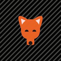 animal, dog, dogs, fox, pet, puppy, red fox icon