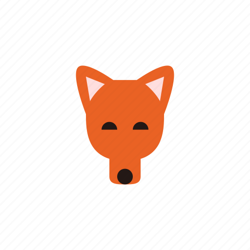 animal, dog, dogs, fox, pet, puppy, red fox icon