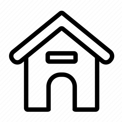 construction, dog, home, house, pet, property icon