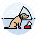 cone, do, dog, in icon