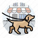 dog, dogs, labrador icon