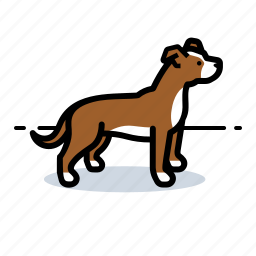 d, dog, doggie, doggy icon