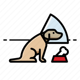 bone, cone, dog, dogs icon