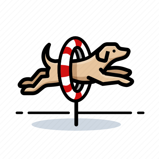 agility, d, dog, dogs icon