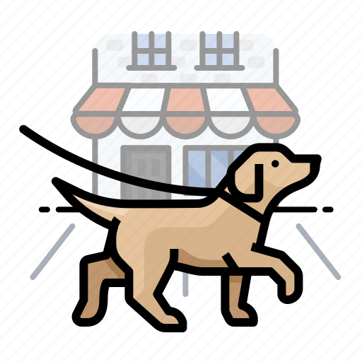 dogs, labrador, pet icon