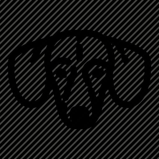animal, bone, canine, dog, face, pet, pets icon