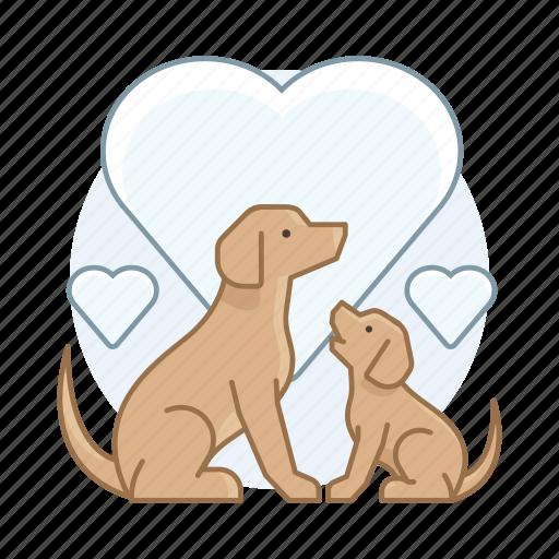 dog, dog breeder, dogs, pet, puppy icon