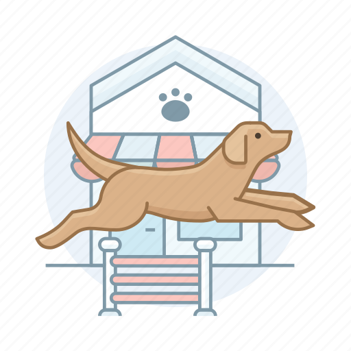 agility, dogs, pet icon