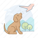 dog trainer, puppy, dogs, dog icon