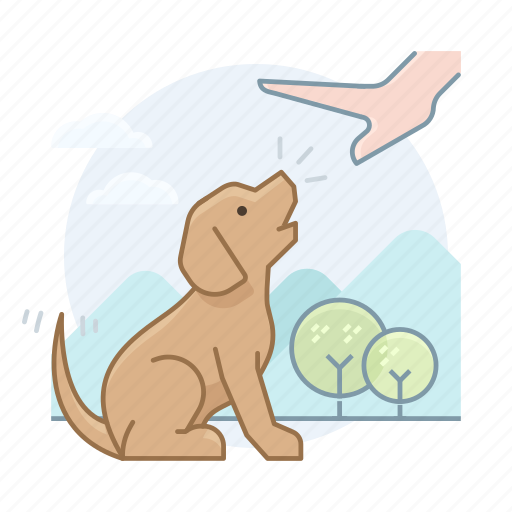 dog trainer, dogs, puppy icon