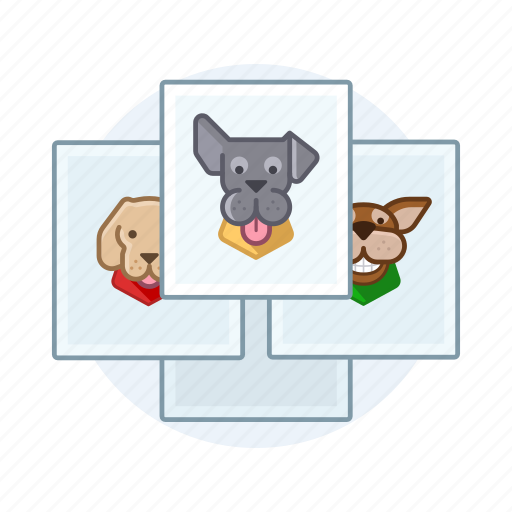 dog, dogs, pet, photo, puppy icon
