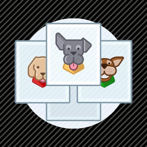 dogs, pet, photos icon