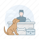dogs, pet, registration icon