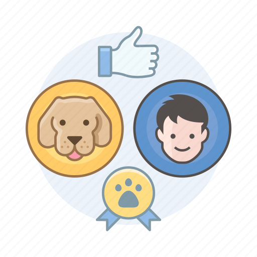 dog show, dogs, results, rewards icon