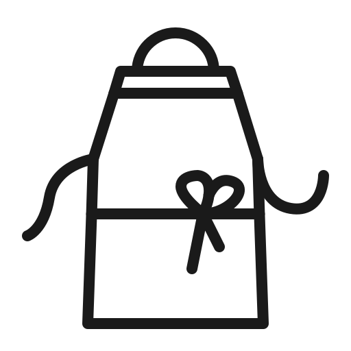 Apron, cook, house, kitchen icon - Free download