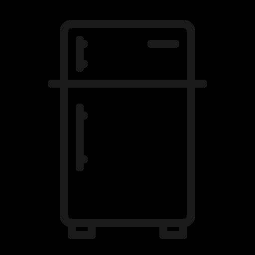 cool, drink, freezer, frige, refrigerator icon