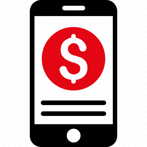 balance, business, dollar, finance, mobile, money, payment icon