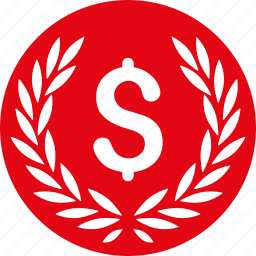 award, business, cash, currency, dollar, finance, money icon